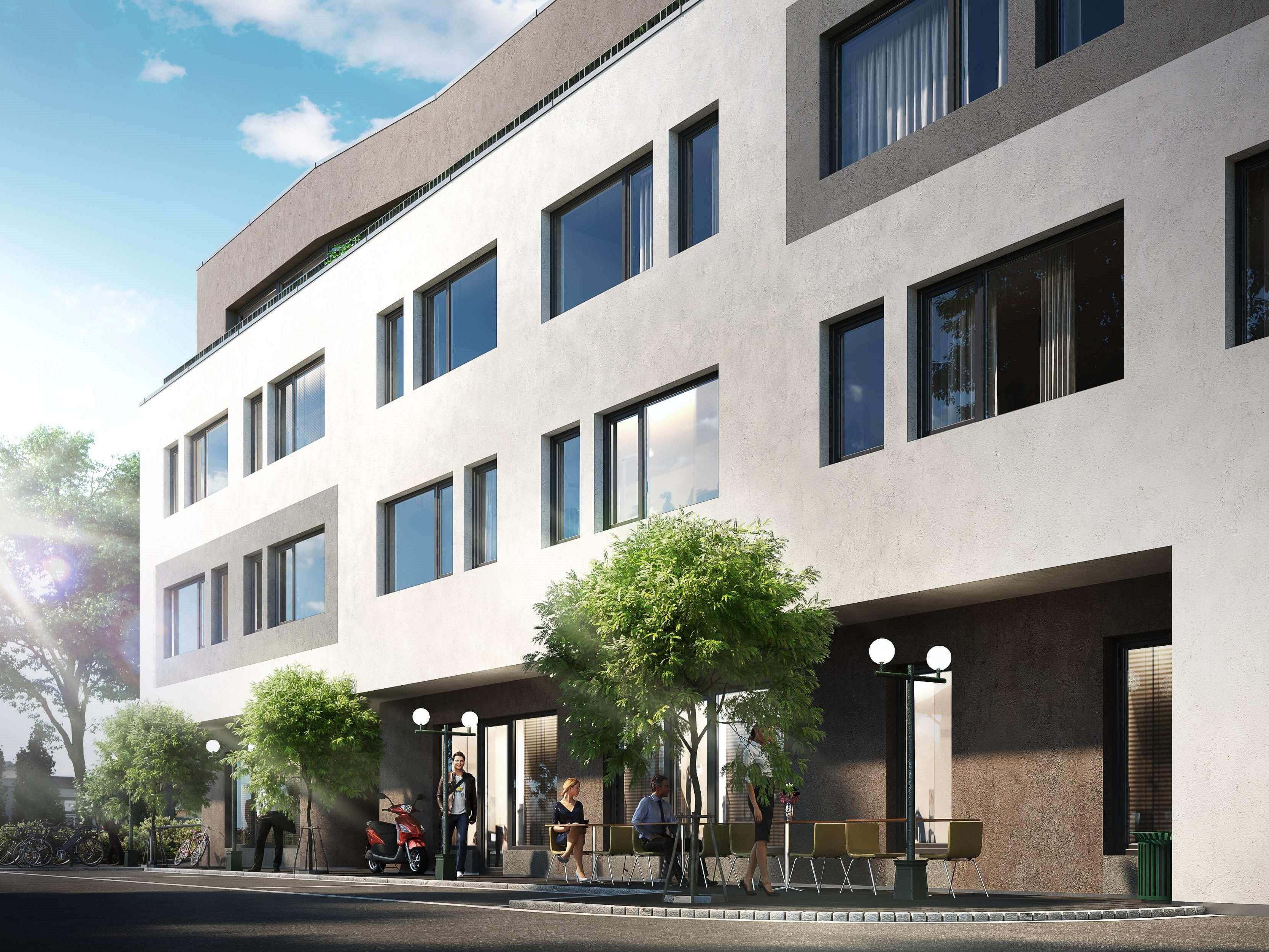 Nový byt s terasou u stanice metra Hloubětín. Developerský projekt Park Corner Praha 9 - Hloubětín. Developer GARTAL