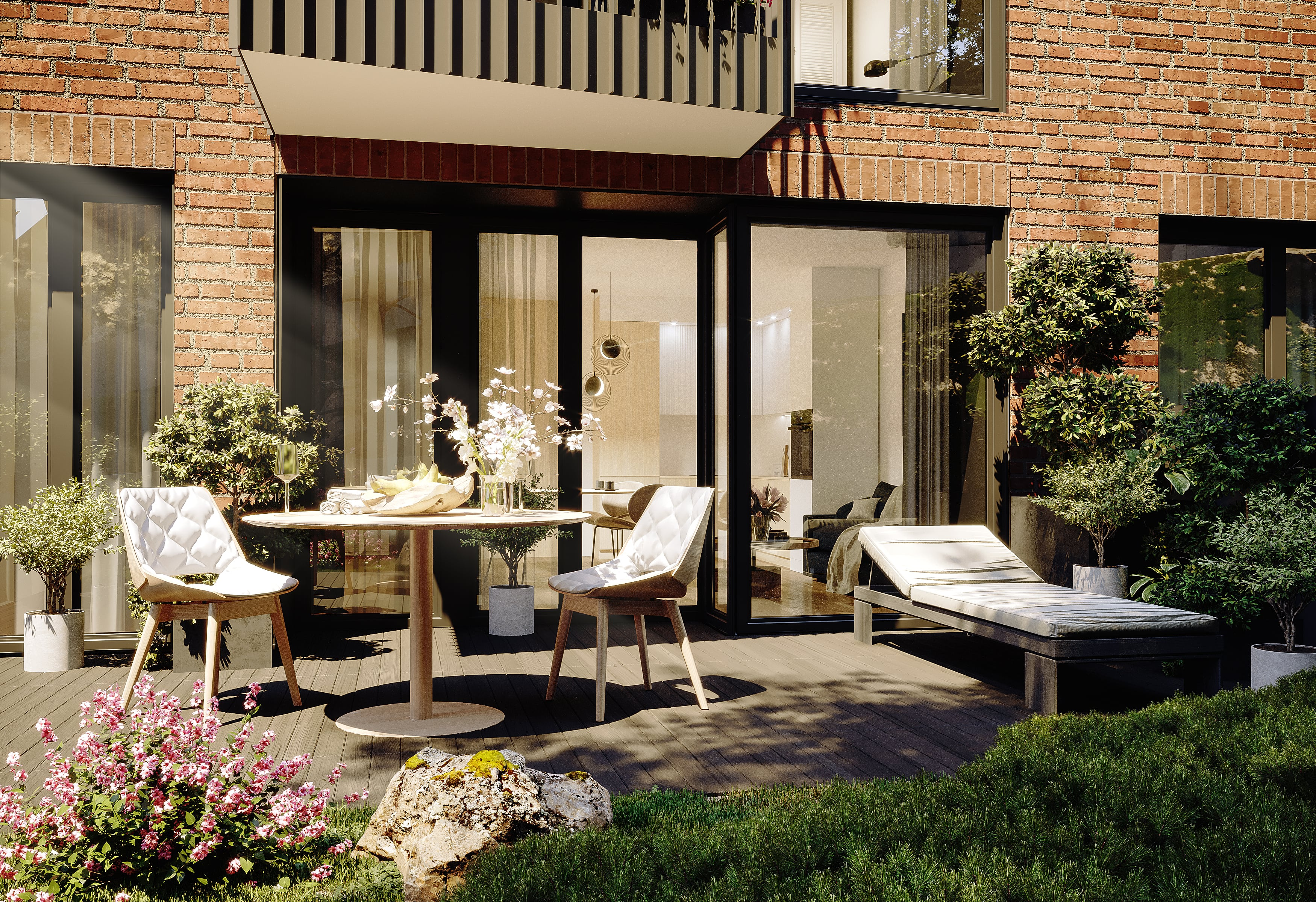 Exclusive apartments in Prague 5 (Czech Republic). Residential project Pod Bertramkou near Anděl. Developer GARTAL
